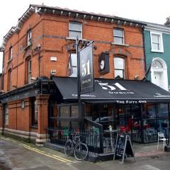 The 51, a sports bar on Haddington Road Dublin 4