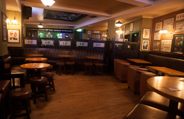 Book an area for drinks in the main bar