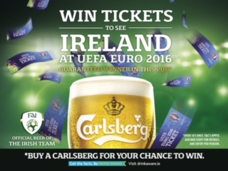 Win tickets to 1 of Ireland's matches in the Euro 2016 here at The 51